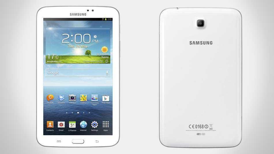 Samsung Galaxy Tab front back