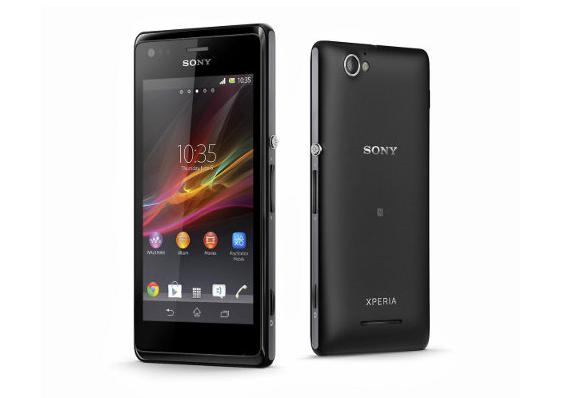 Sony Xperia M.