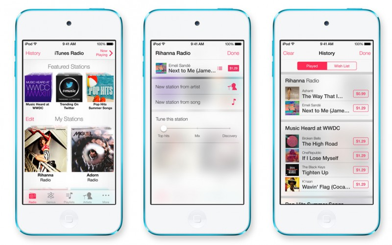iTunes Radio, iBooks and iCloud for OS X Keychain