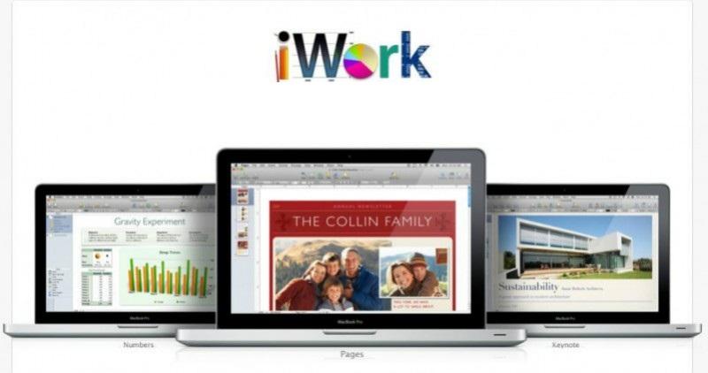 iWork in iCloud
