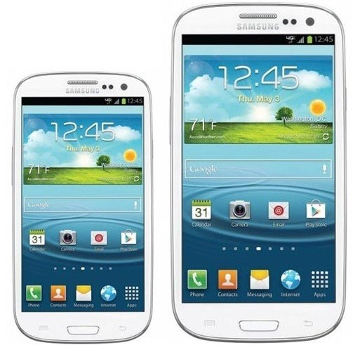 samsung galaxy mini and big