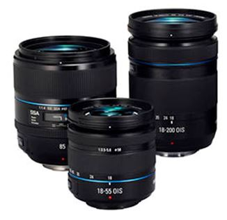 samsung galaxy nx mirrorless lenses