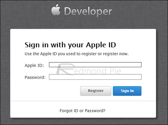 Sign-in-dev