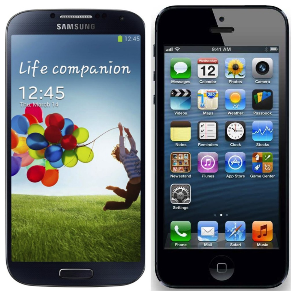 samsung galaxy s4 vs apple iphone 5 1024x1024