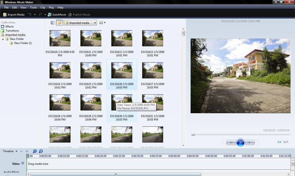 Time-lapse-using-Windows-Movie-Maker