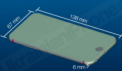 An iPhone 6 Leak Claims To Show Exactly How Thin Apple's Next Phone Will Be