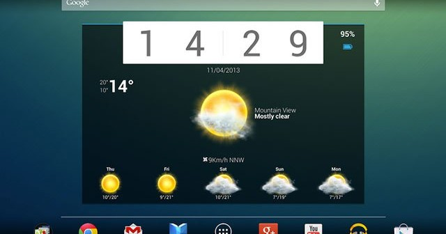 Top 10 Android Widgets in 2014
