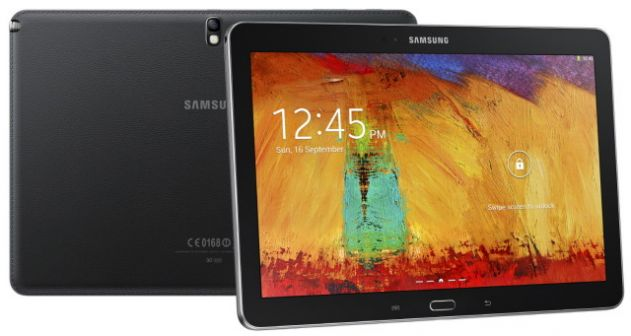 samsung galaxy note pro 12.2 screen