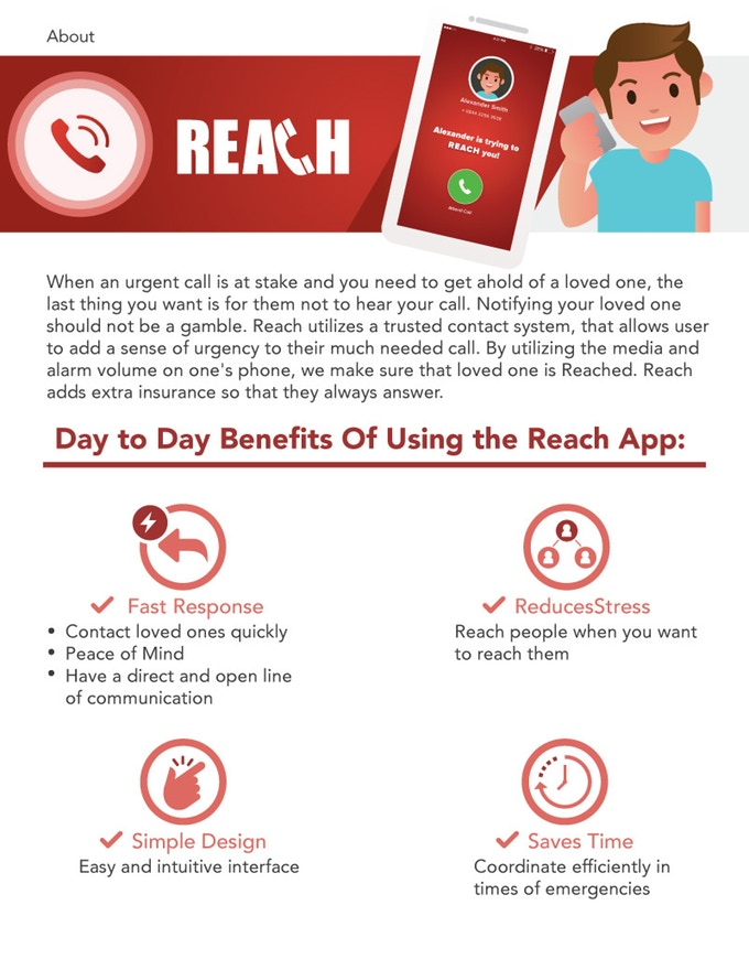 Benefits of using Reach App